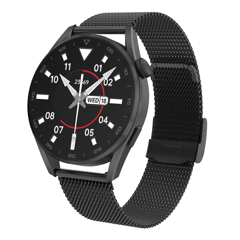 Wireless Charging Smart Watch Men 1.36 Inch 390*390 Full Touch Screen Rotary Crown Bluetooth Call Sm