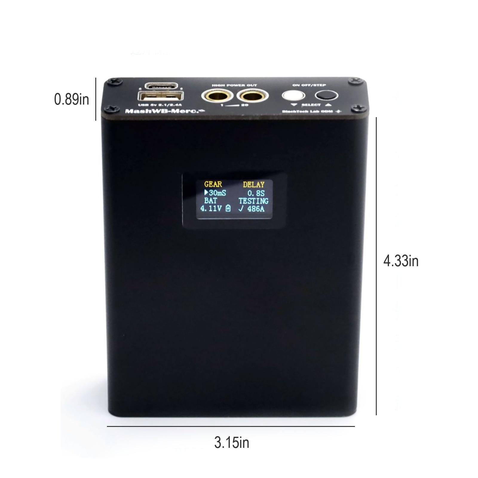 BTL-02 Mini Spot Welding Machine Digital Display Portable Spot Welding Machine Handheld 18650 Lithium Battery Power DIY Kit enlarge