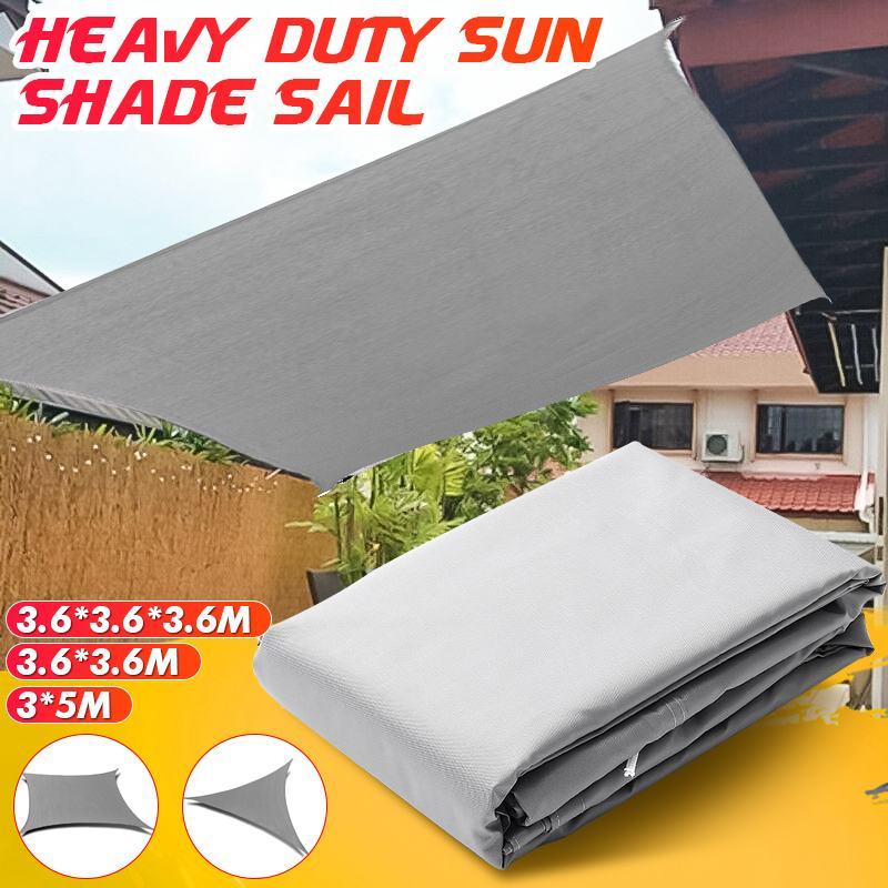 مقاوم للماء الشمس المأوى ظلة حماية الظل الشراع المظلة التخييم قماش للتظليل كبيرة للخارجية مظلة حديقة الباحة