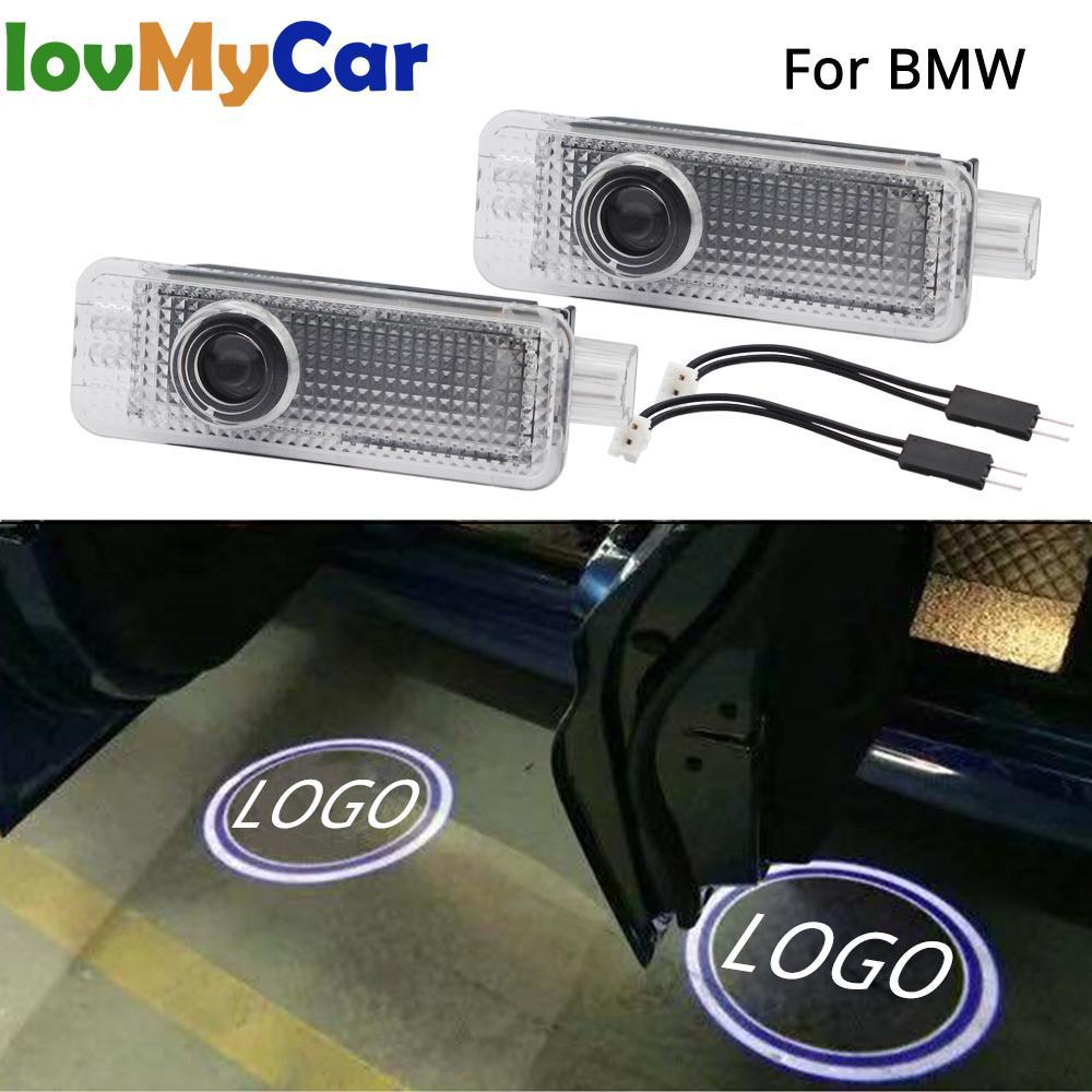2X автомобильная светодиодная подсветка двери Добро пожаловать проекционная лампа лазер для BMW E90 E91 E92 E93 M3 E60 E61 F10 F07 M5 E63 E64 F12 автомобильные аксессуары