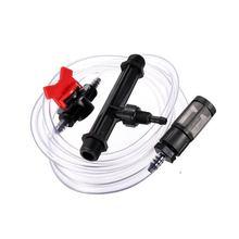 3/4 Garden Irrigation Device Venturi Fertilizer Injector Switch Water Tube Kit