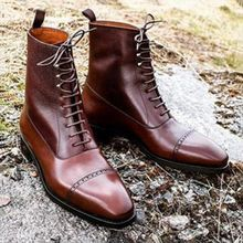 2021 Autumn New Men's PU Lace Up Formal Business Shoes Flat Bottomed Overshoot High Quality Men Shoe