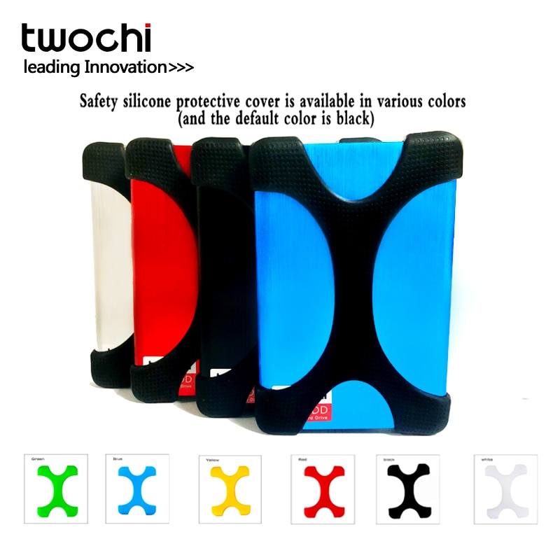 TWOCHI External Hard Drive Disk USB3.0 SATA Portable HDD,80GB-1TB Compatible with /Xbox 360/PS4/Mac/Tablet/PC, Easy Use