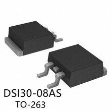 10PCS/PCS    DSI30-08AS    TO-263 800V 30A   New original spot selling integrated circuits