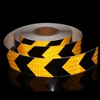 free shipping car reflective strip stickers reflective arrow tape bicycle warning safety signs decorating adhesive motobike film