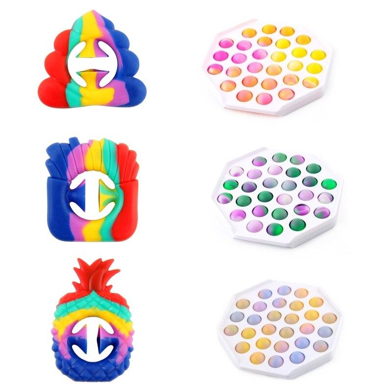 Фиджет-игрушки, милые игрушки для взрослых, сжатие пены, может облегчить стресс взрослых, сжимает давление одиночества и аутизма