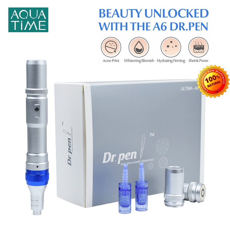 Dr. pen A6 Ultima Derma Auto Micro Needle Touch Up Pen Acne Scar Removal Professional Therapy Skin Care Wireless And Wired