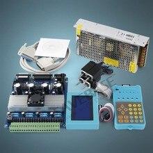 4 ejes CNC Kit de TB6560 HB Nema08 4.17oz en Motor 12V PSU para DIY Router/Plasma