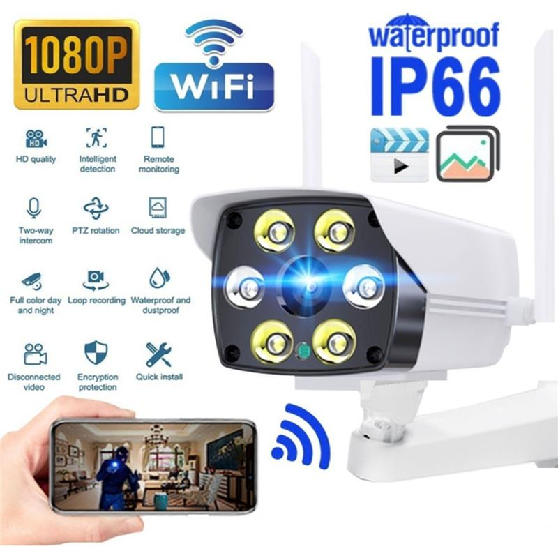 1080P HD IP Cámara inteligente Cámara de hogar con Wifi inalámbrico al...