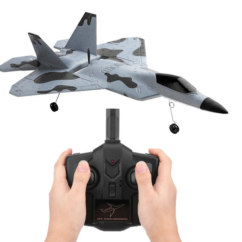 XK A180-F22 Aircraft Model Brushless Fixed Wing 3D/6G Remote Control Aircraft 2.4G Remote Control Drone enlarge