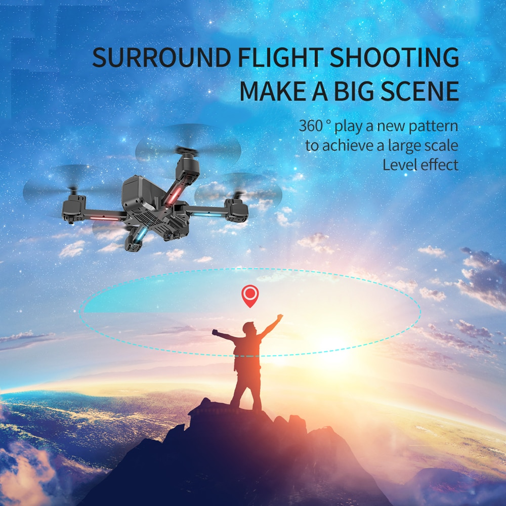 2021  NEW S177 Drone WIFI 4K HD Wide-Angle Dual Camera Distance 600M Height Keep Flight 20MIN Gps 5G  Fvp Drones Quadcopter Toys enlarge