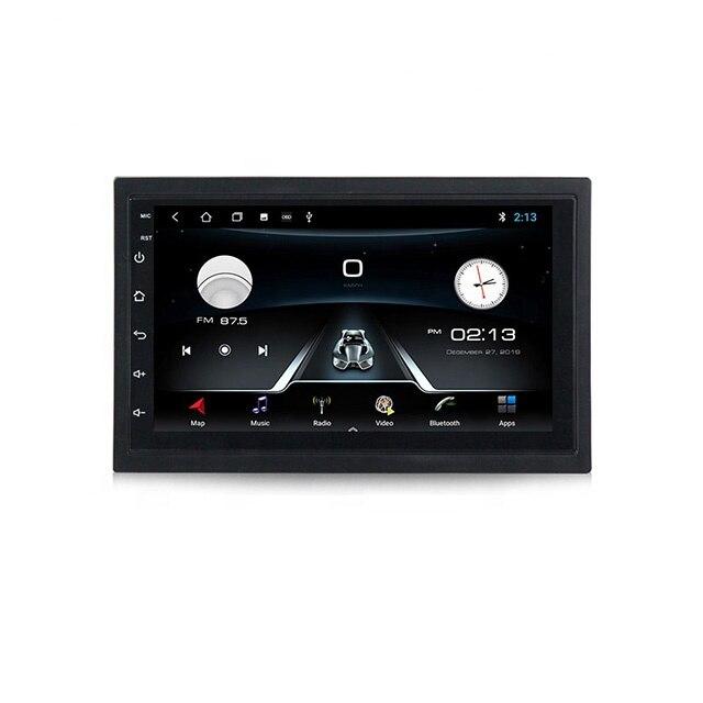 التحكم الصوتي! 7 ''2DIN 2 + 32G راديو السيارة الاندورويد الملاحة لاعب لجميع السيارات صالح مع ميرورلينك BT رباعية النواة
