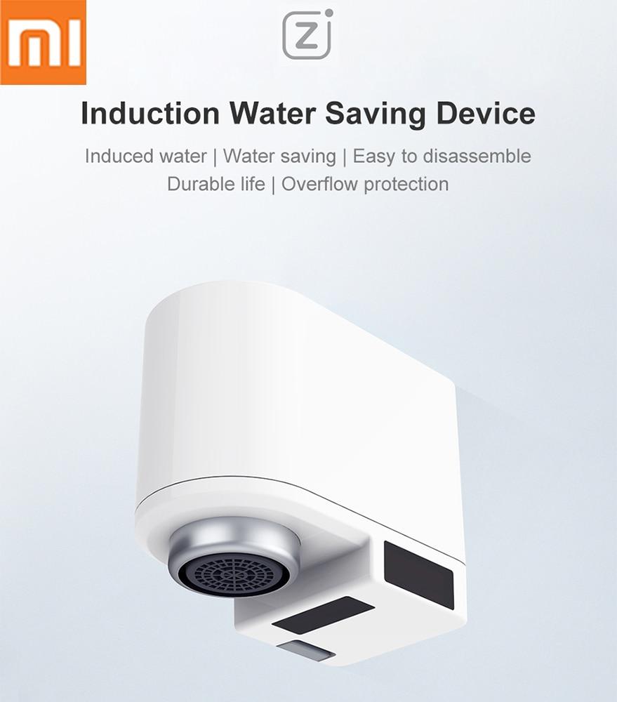 Умная Автоматическая водосберегающая насадка Xiaomi Zanjia, инфракрасный кран, регулируемое устройство для кухни и ванной комнаты