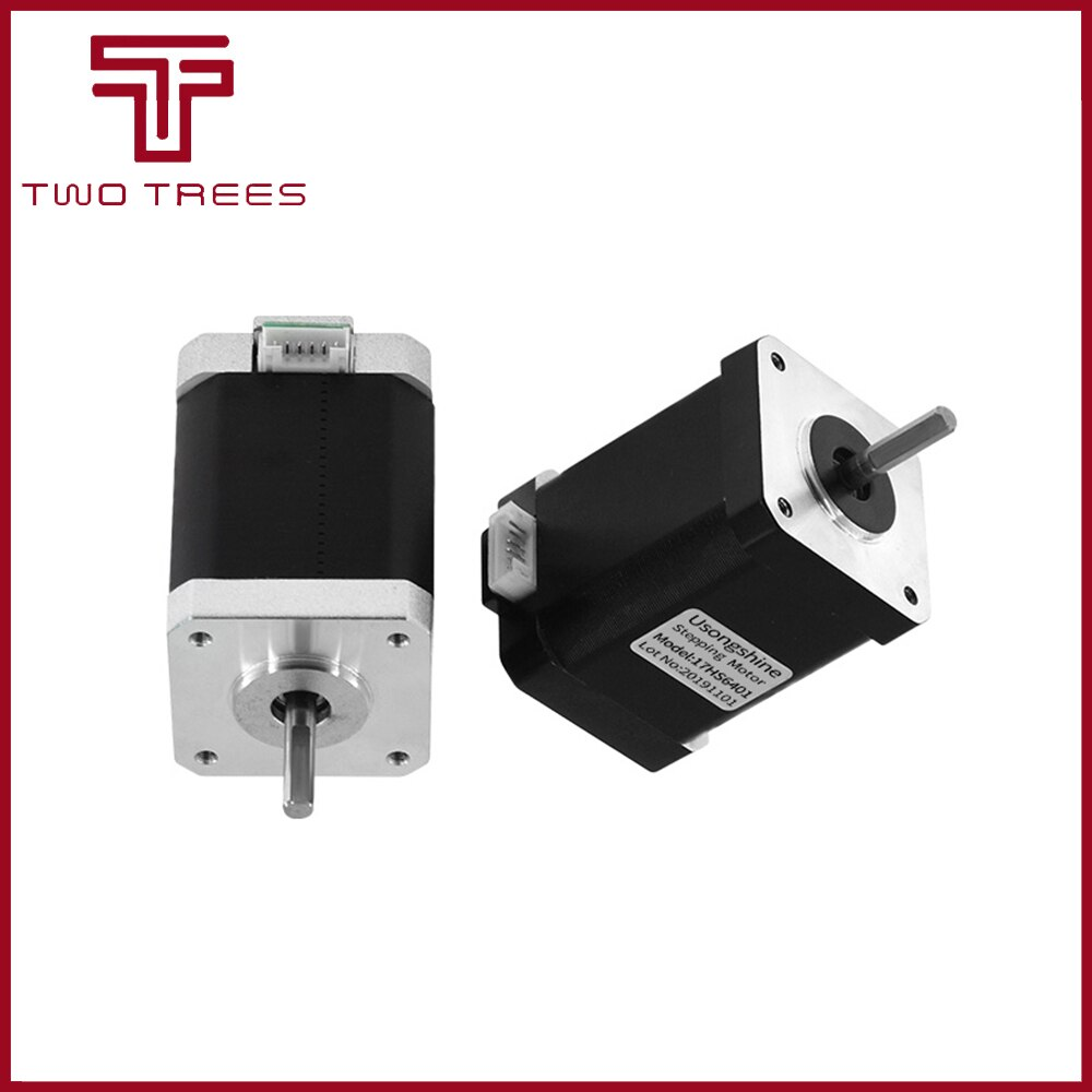 Nema17 17HS6001 17HS6001S para extrusora Titan 4-plomo Nema 17 22mm 42 Motor para piezas de impresora 3D