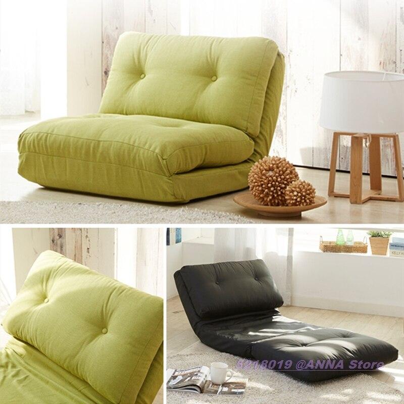 Sofá plegable multifuncional, cama suave, pequeño apartamento, sala de estar, tela Lazy...