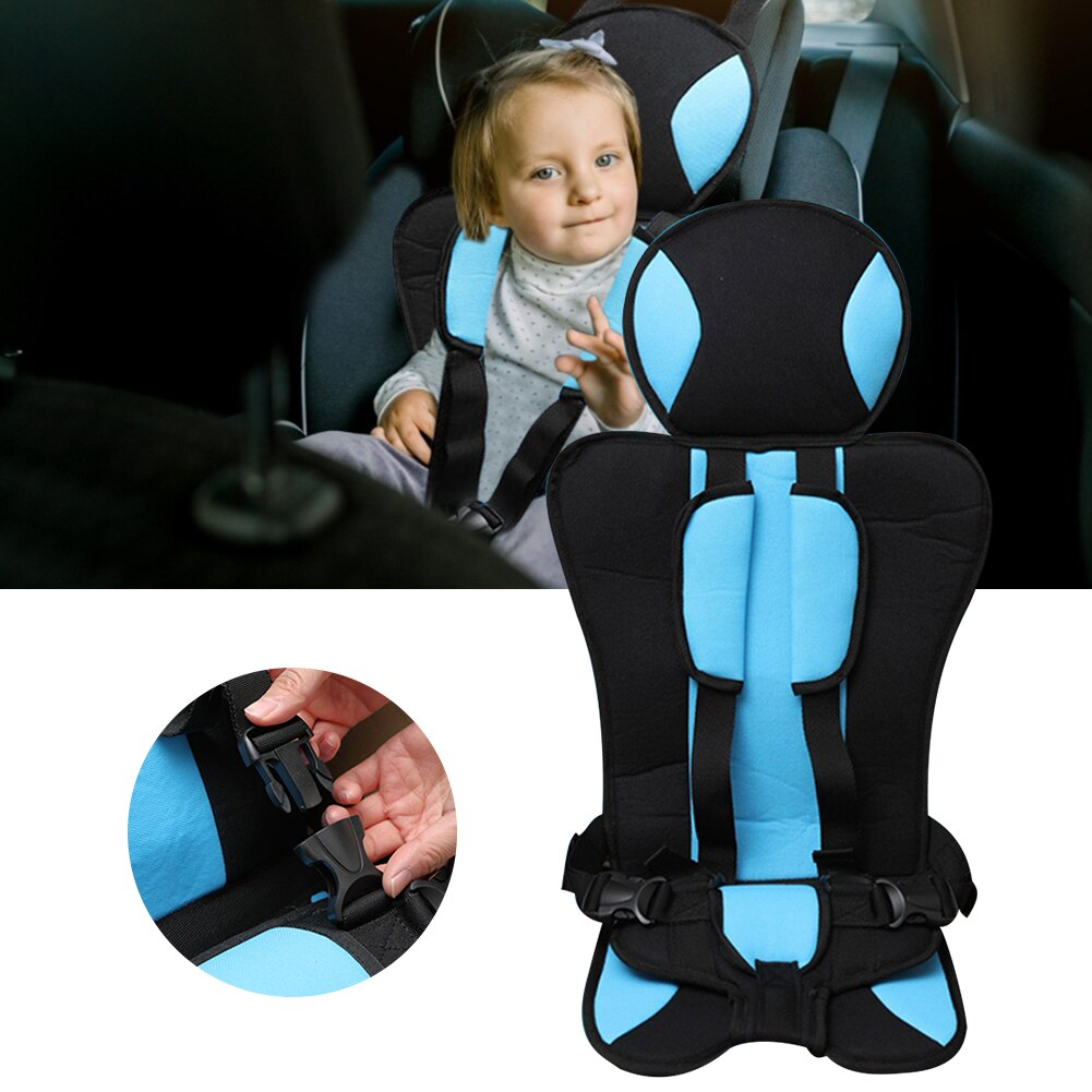 Safety Child Seat Suitable For Baby 0-6 Years Old Car Children Seat Cushion Vehicle Child Safety Seats