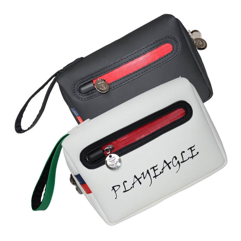 PLAYEAGLE Golf Pouch Bag Handbag Waterproof Zipper Mini Golf Bag Cell Phone Pouch Makeup Cosmetic Bag
