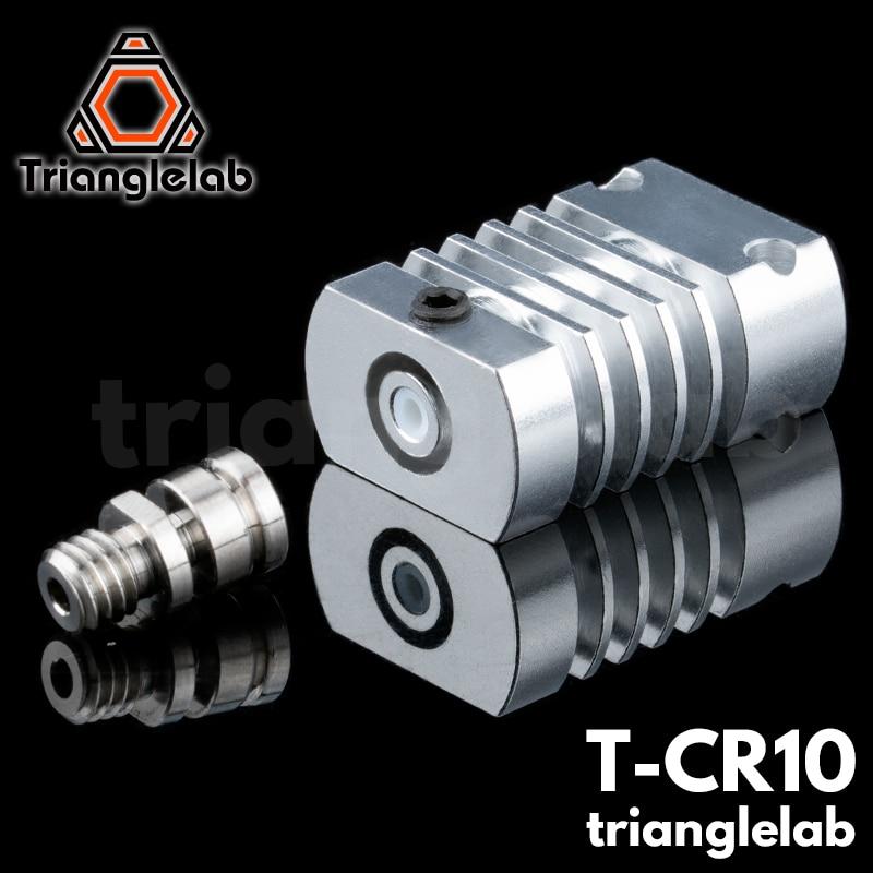 AliExpress - Trianglelab T-CR10 Hotend Upgrade KIT All Metal/PTFE Heatsink Titanium Heat Break For CR-10 CR-10S Ender3 Upgrade Kit