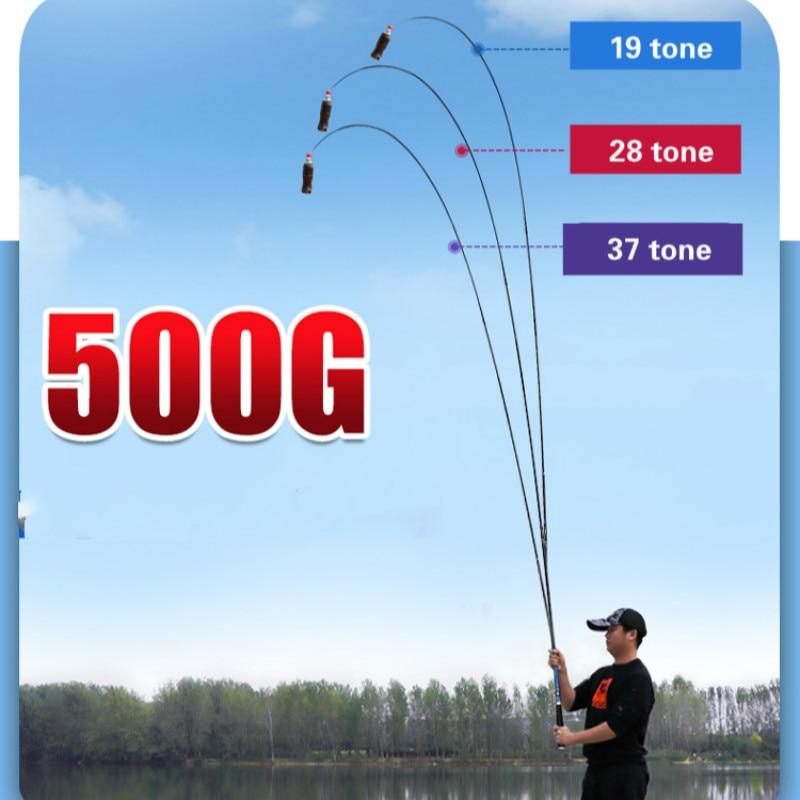 Super Hard Carp Fishing Poles 46T Carbon Fishing Rod 19/28/37 Tone Hand Olta Carbon Fiber Fishing Canne De Pesca Fishing Tackle enlarge