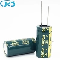 1pcs 25v 10000uf 1835 low esr high frequency aluminum electrolytic capacitor 10000uf 25v 20