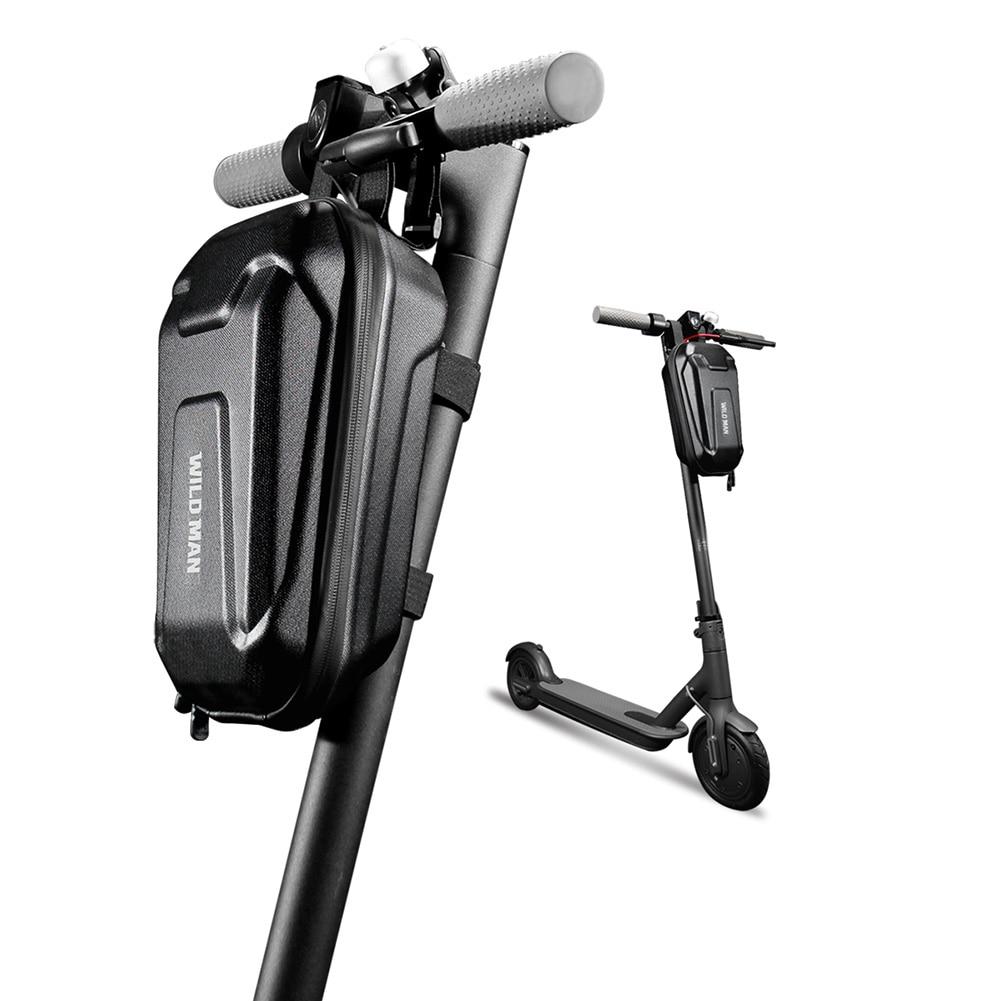 Scooter elétrico carregador saco para xiaomi m365 m365 pro para ninebot es1 es2 es4 vida skate elétrico compartimento à prova dwaterproof água