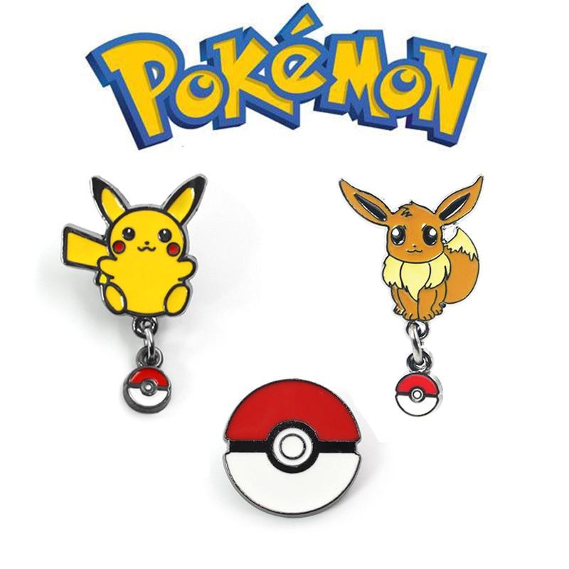 Pokemon Go Pikachu Eevee костюмы акриловый значок Косплей брошь Покемон Меч Щит подарок на Хэллоуин