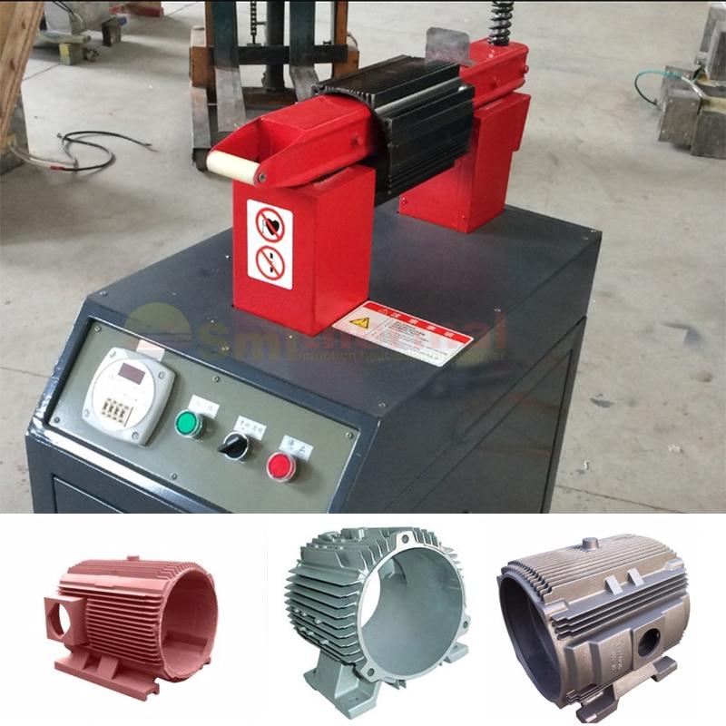 10-30KHZ 30KW ماكينة حرارة التوجيه عالية التردد عديمة اللهب للمعادن ، التسخين المسبق