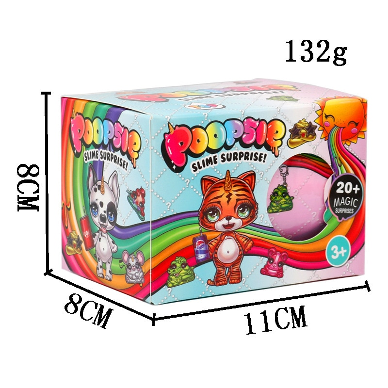 Squeezing  Unicorne Soft Relief Stress Soft Clay Doll Rainbow Crystal Muds Rocking Childrens Compressible Kid Girls Toys enlarge