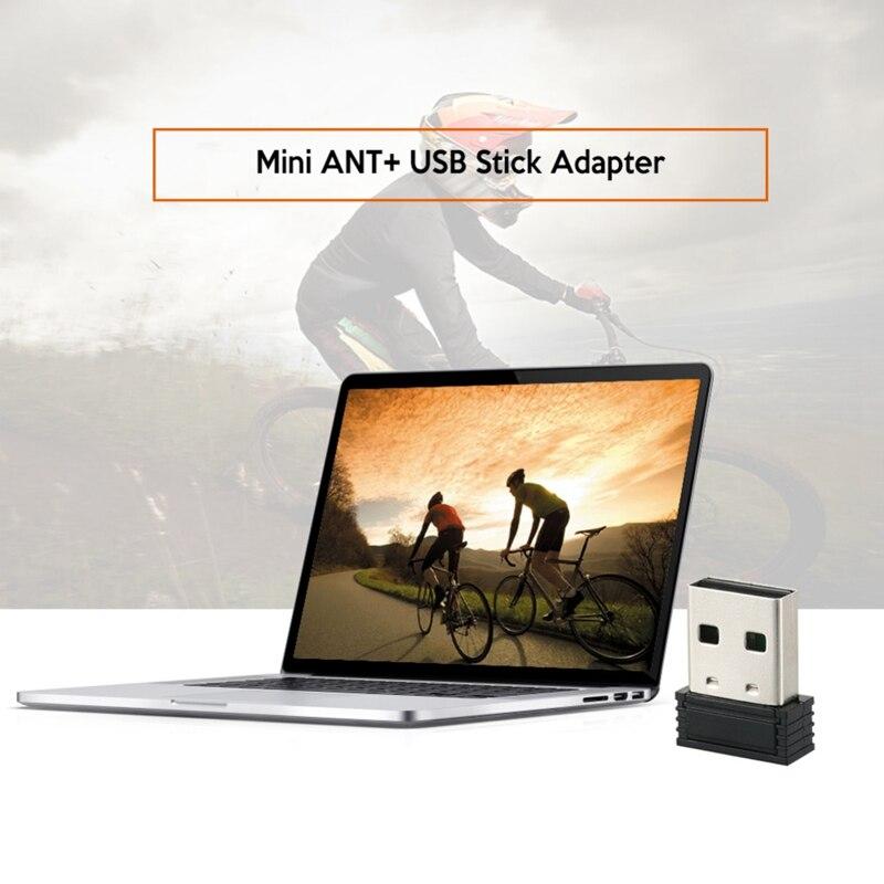Portátil Dongle USB adaptador de computadora para bicicleta entrenador para Garmin Zwift Wahoo Bkool nuevo
