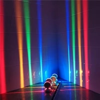 led bulb corridor spotlight channel ray colorful wall lamp 360 degree adjustable indoor dining room decoration home supply light