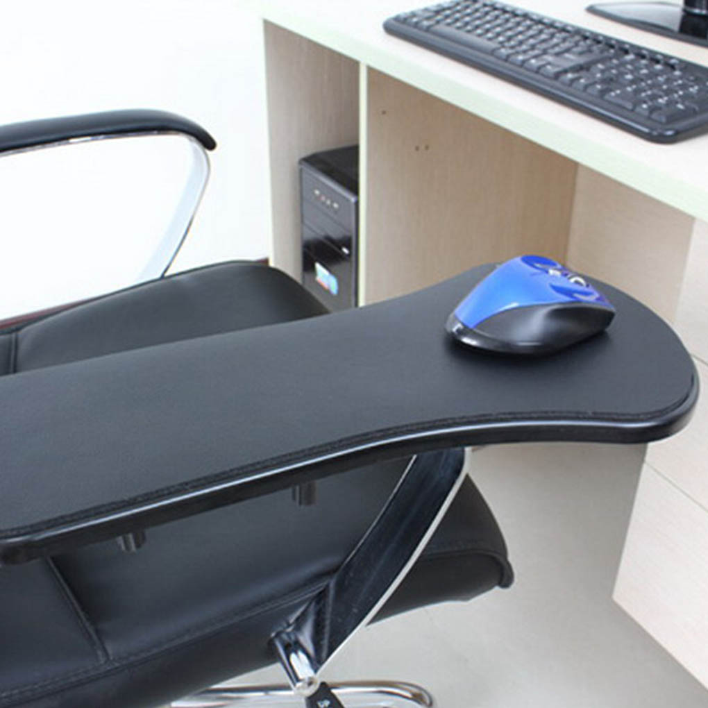 Hands Arm Support Wrist Rest Bracket Pallet Rack Home Office Computer Mouse Pad Chair Desk Attachment