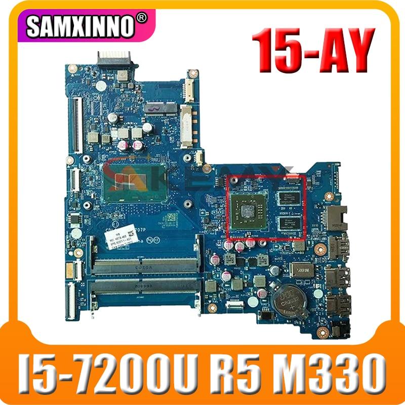 Akemy اللوحة ل HP جناح 15-AY 903791-601 903791-001 مع I5-7200U CPU LA-D707P DDR4 R5 M330 2GB اللوحة المحمول