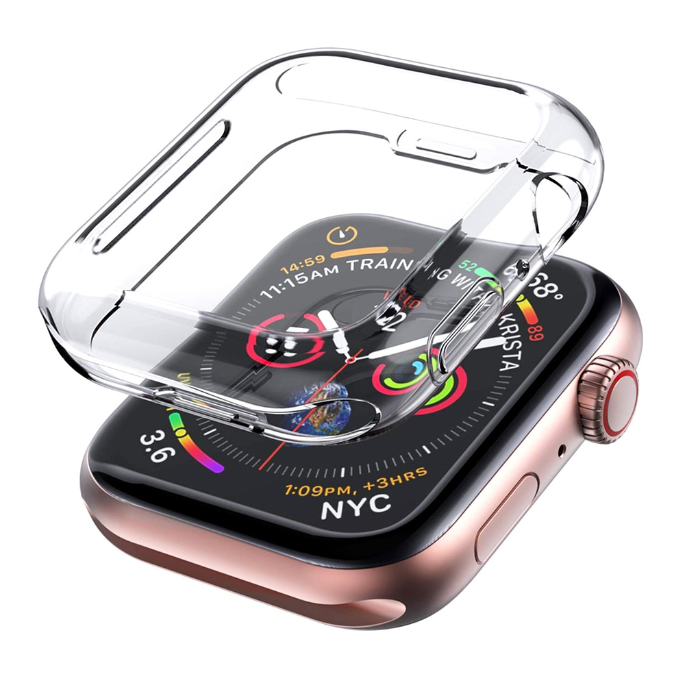 case for apple watch series 6 5 4 3 2 1 se band all around ultra thin screen protector cover iwatch case 44mm 40mm 42mm 38mm TPU Watch Cover case For Apple Watch band 42mm 38m 40mm 44mm Silicone case Screen Protector for iWatch series 6 se 5 4 3 2 1