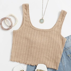 Women Tops Solid Sleeveless Pullover Vest Tank Shirts Streetwear Tops For Women Топик Женский Summer Casual Sexy Tank Top R5