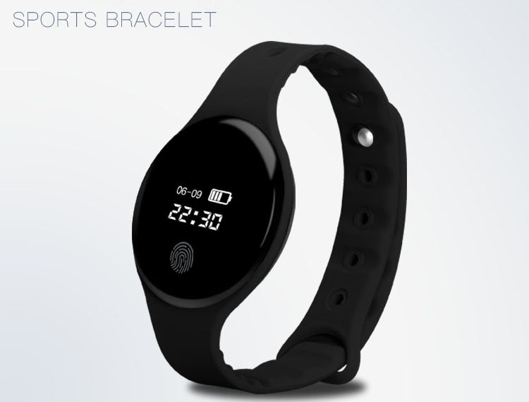 Smart Band H8 Wristband Heart rate monitor With OLED Touchpad Fitness Bracelet Band2