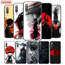 For Xiaomi 10 CC9 A3 Lite Black Cover Samurai Warrior Japan soldier For Xiaomi Redmi Note 9 9S Max 8T 8 8A GO Pro Phone Case