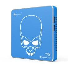 Beelink gt-king pro 스마트 tv 박스 S922X-H 4 gb ddr4 64 gb 5g wifi 블루투스 안드로이드 9.0 음성 제어 tv 박스 지원 hifi hdd 음악