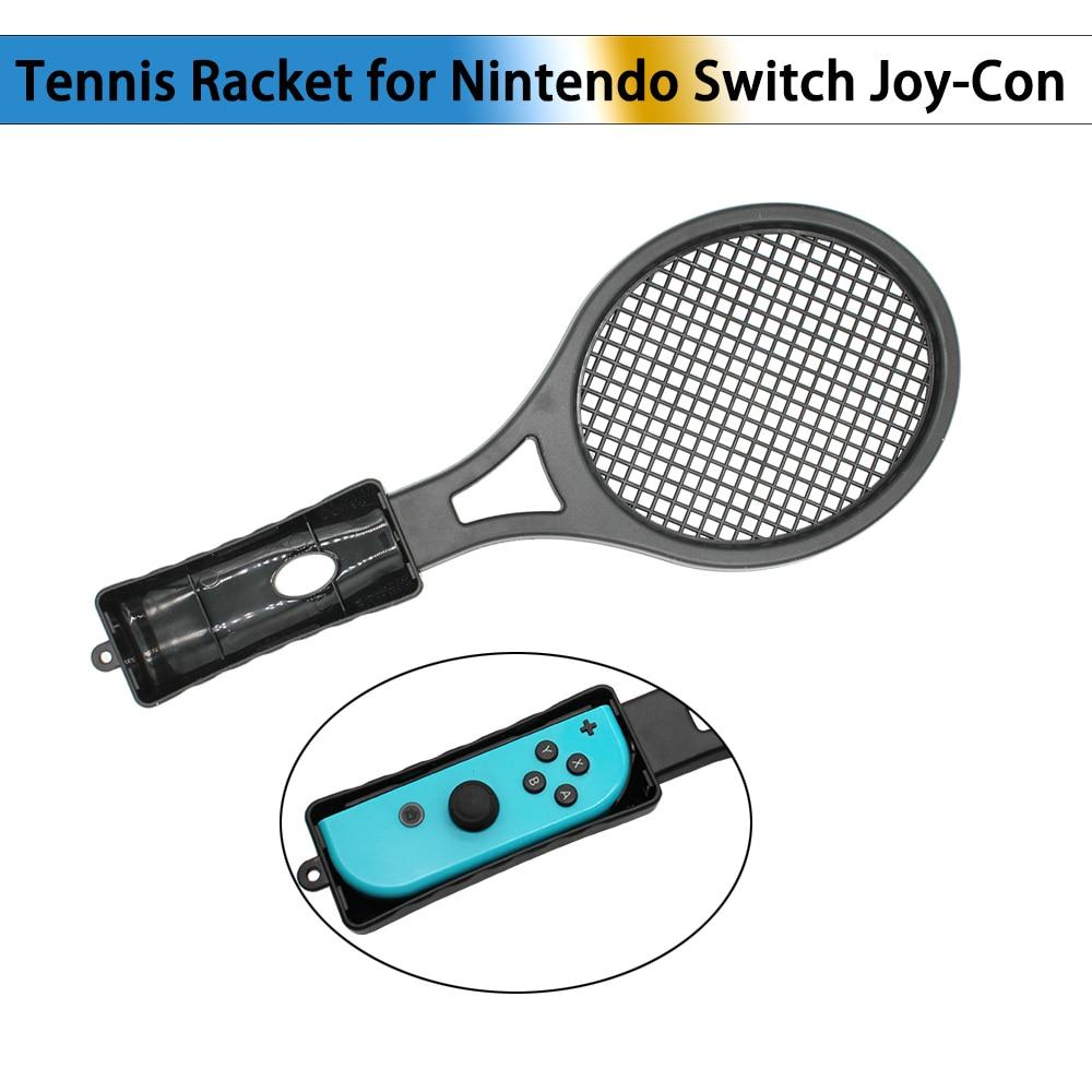 Controlador de jogo para ma rio ace jogo jogando abs raquete de tênis lidar com controlador para nintend switch ns joy-con lidar com titular presente