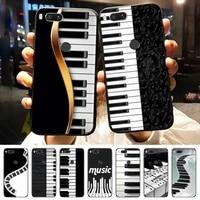 music piano keyboard phone case for xiaomi redmi note 8 9 10 11 t lite pro ultra mix 4 k40