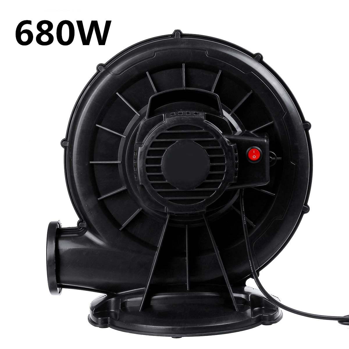 180 Вт-680 Вт Электрическая воздуходувка, насос, мощный воздуходувной аппарат, насос, надувной экран для свадебной вечеринки