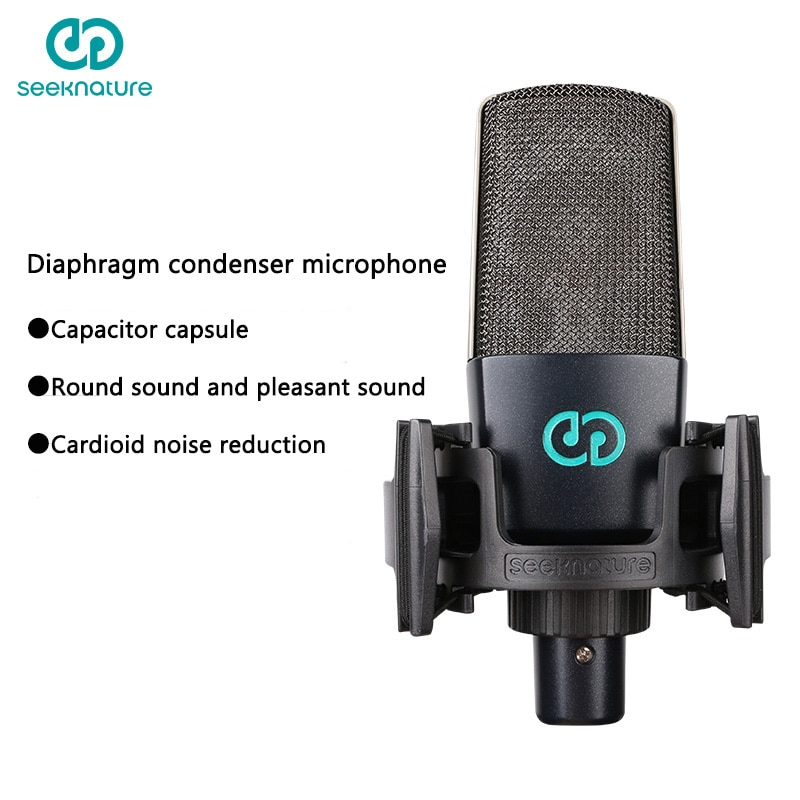 Seeknature Broadcast bar T241 microphone sound card set net red anchor singing live special equipment full set Cardioid