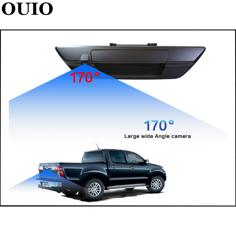 OEM Rear Camera For Toyota Hilux MK8 Masters Revo VIGO 2015 ~ 2021 2017 2018 Night vision Pickup Truk Parking Reversing Camera