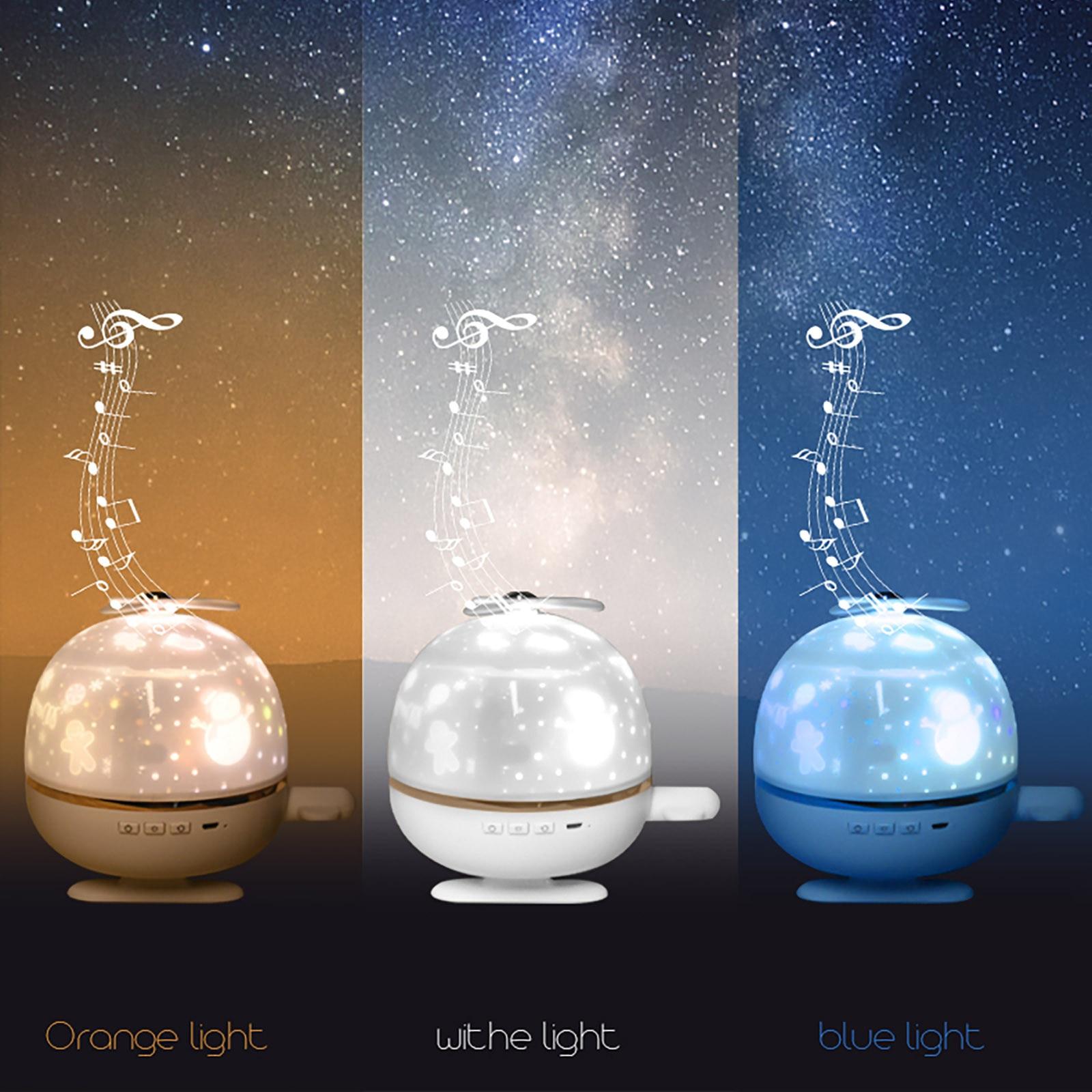 40 # noite luz estrela projetor usb plug-in uso festa de aniversário presente sonho recarregável universo céu estrelado girando luz led