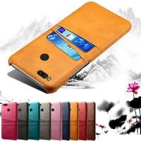Чехол для Xiaomi 5X 6X A3 A2 A1 Mi 9 8 se Lite, чехол из искусственной кожи с отделением для карт для Xiomi Redmi 6, 7, 8, 7A, 8A, Note 8, 7, 6 Pro, чехол
