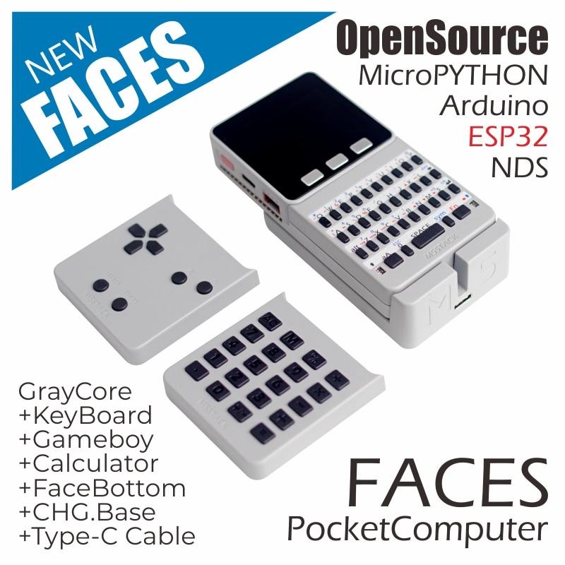 M5Stack новое предложение! ESP32 карманный компьютер с открытым исходным кодом лица с клавиатурой/PyGamer/калькулятор для микропитона Arduino