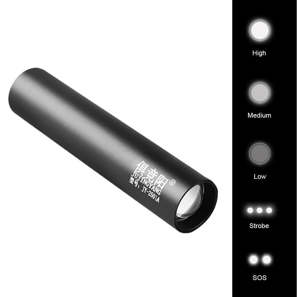 Jujingyang pouco leve carregador portátil mini portátil ao ar livre multi-funcional super brilhante lanterna