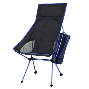Portable Camping Chair Aluminum Alloy Folding Lawn Chairs for Outdoor Camp Picnic Hiking