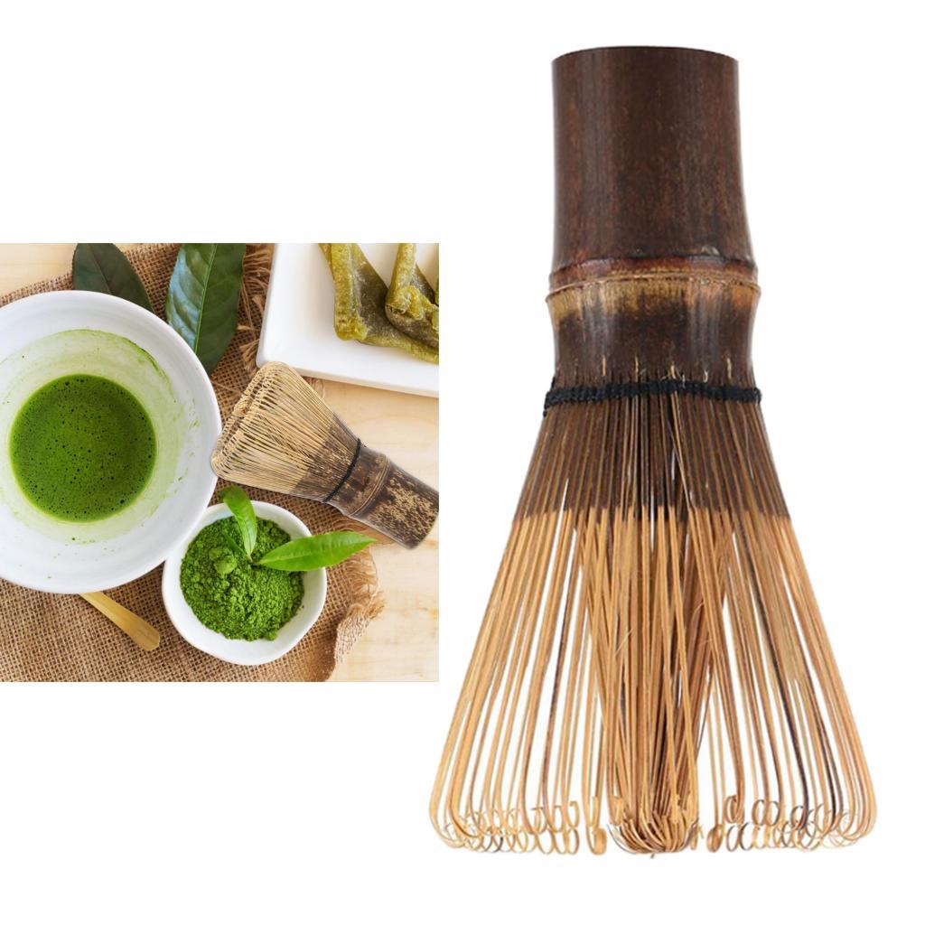 Bamboo Matcha Green Tea Coffee Powder Whisk Chasen Teaware Ceremony Supply