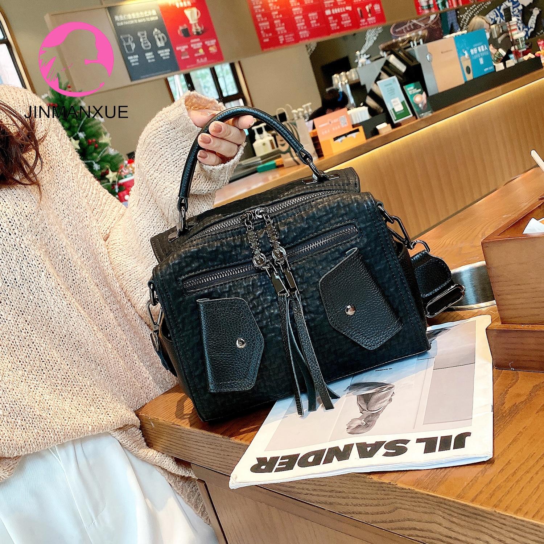 New Female Messenger Bag Sac A Main Ladies Backpack Luxury Handbags Women Bags Designer Multifunction Leather Shoulder Bag Bolsa недорого
