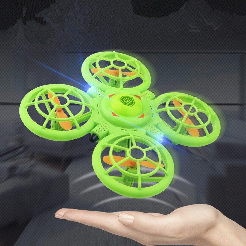 Platillo volador con sensor de gestos inteligente, Avión de levitación anti-lucha de cuatro ejes para mini-uav